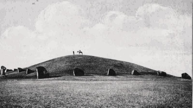 Большой Салбыкский курган, июнь 1910, фотография Н.В. Федорова