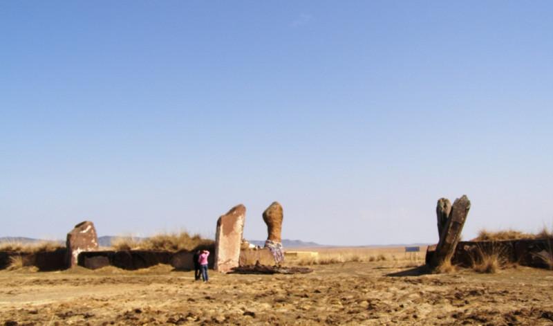 Внутри Салбыкского кургана