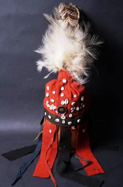 Шапка хакасского шамана XIX век, из коллекции музея Мартьянова, Минусинск.