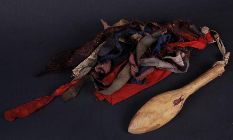 Колотушка шамана XIX век, из коллекции музея Мартьянова, Минусинск.