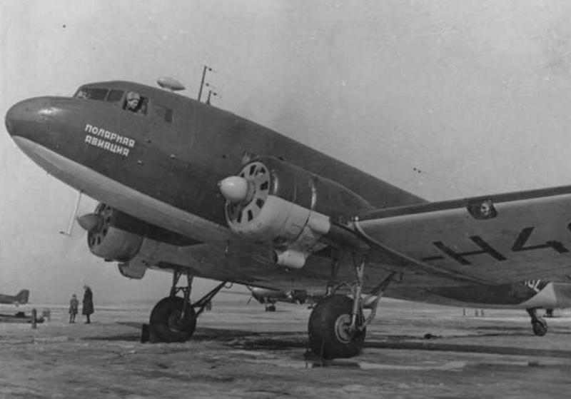 ЛИ - 2 апрель 1948 года, фото Лесс А.