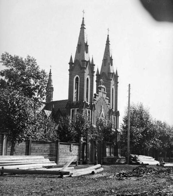 Костел, г. Красноярск, 21.09.1930, фото Власова