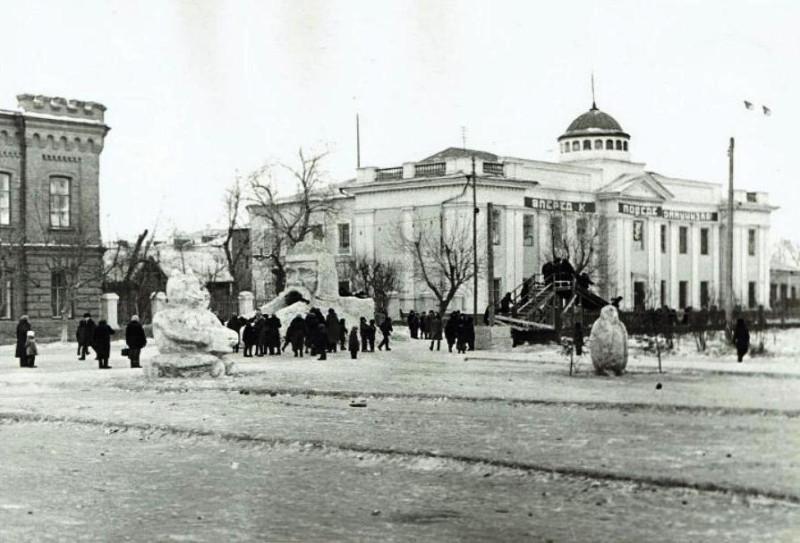 Фото Грудцын Г.А. первое января 1968 года.