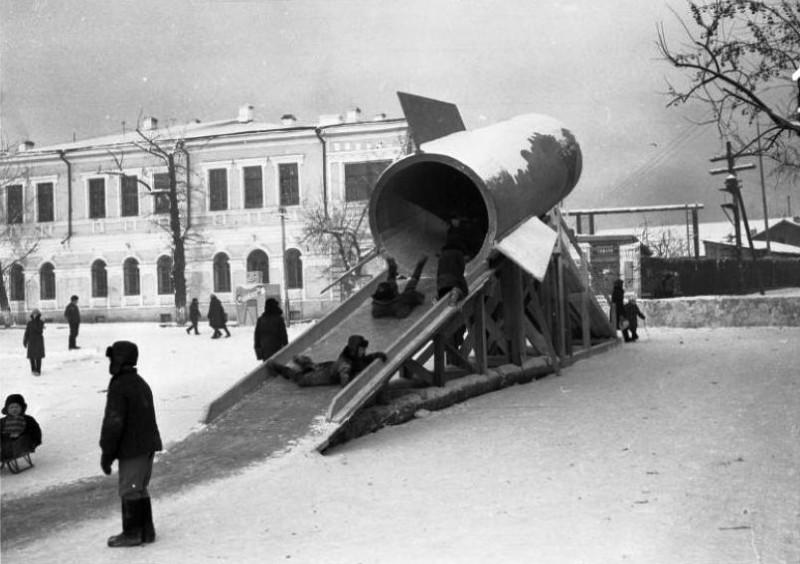 Площадь III Интернационала, 1967 год, фото Ф.В. Абабков