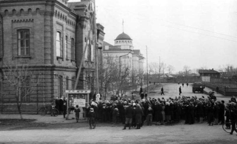 Фотограф Андреев Г.С. 14 апреля 1961 года
