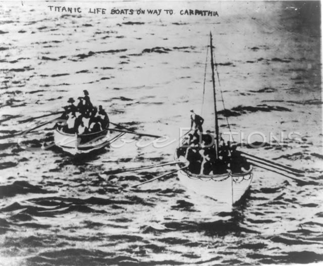 шлюпки D и 14 с Титаника, 15-04-1912