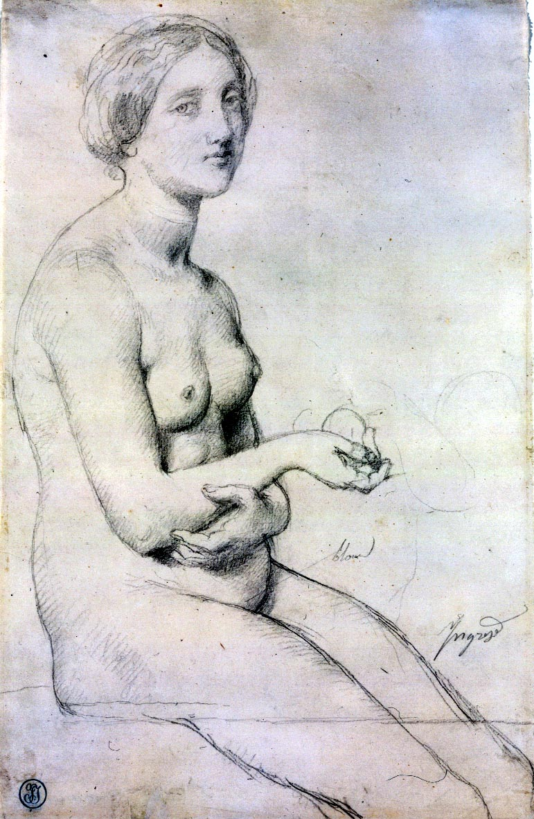 Ingres_Study_for_-Venus_a_Paphos-