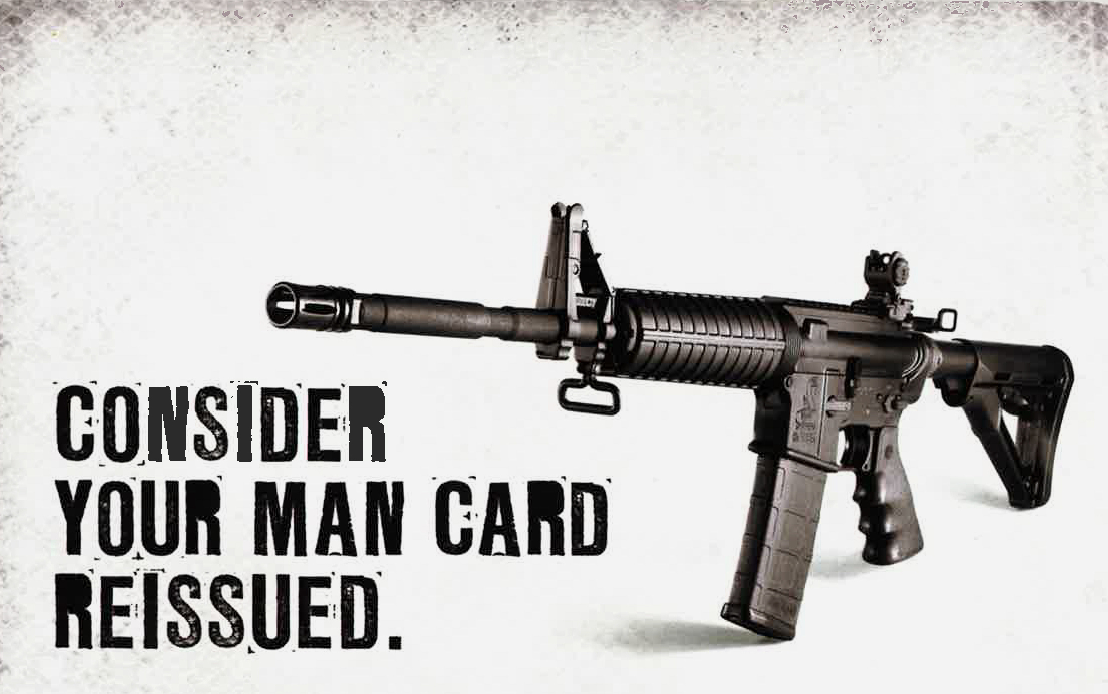 Bushmaster: consider your man  card reissued