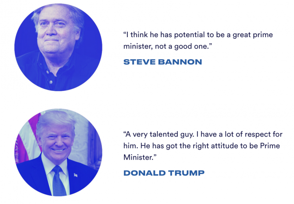 Tramp and Bannon endorse Boris