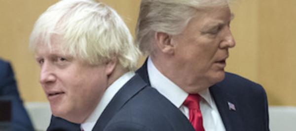 Борис Джонсон и Дональд Трамп, фото с сайта politicshome.com