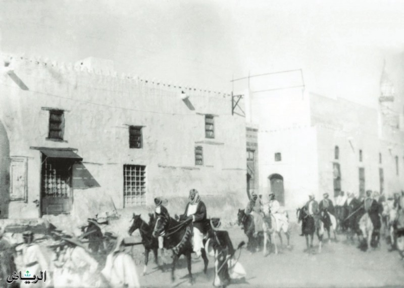 Абдулазиз на коне