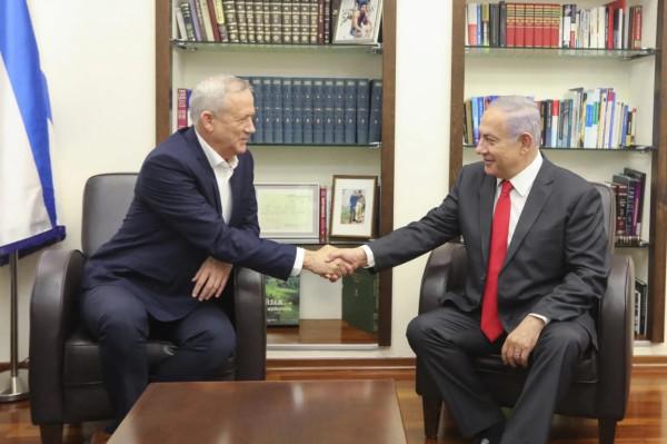 Ганц и Нетаньяху