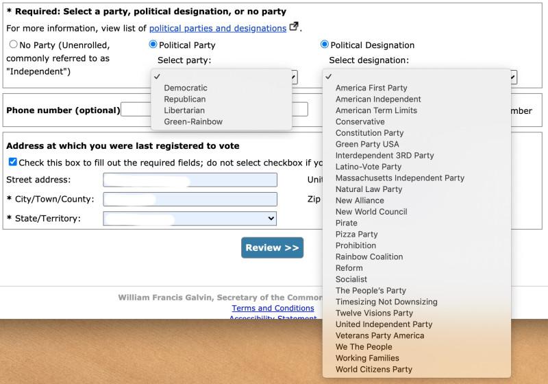 Political Designation