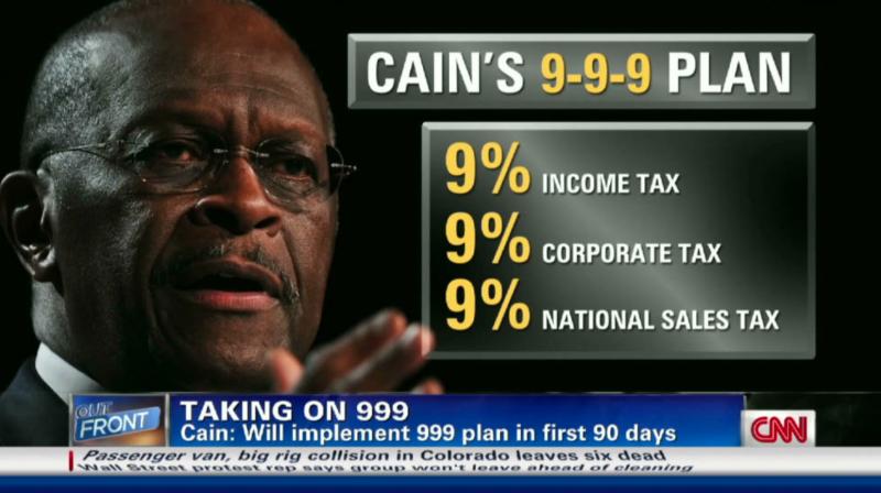 Herman Cain 9-9-9