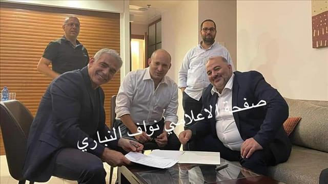 Мансур Аббас подписывает коалиционное соглашение