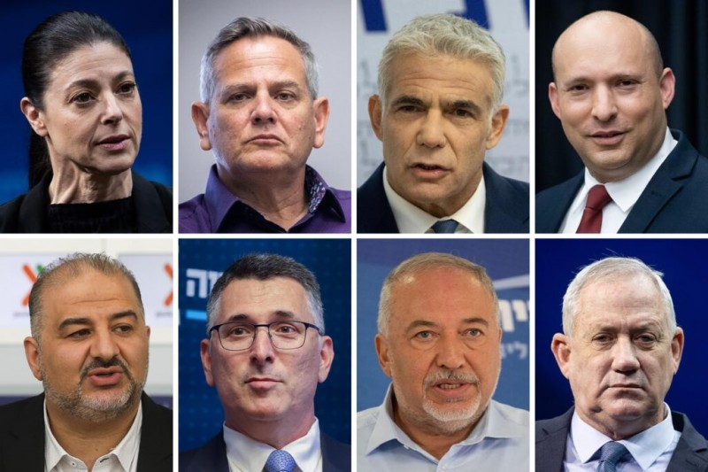 Восьмёрка лидеров фракций новой коалиции