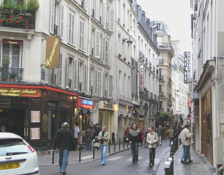 Париж, латинский квартал
