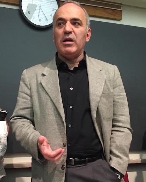 Гарри Каспаров, ноябрь 2015, Гарвардский Университет