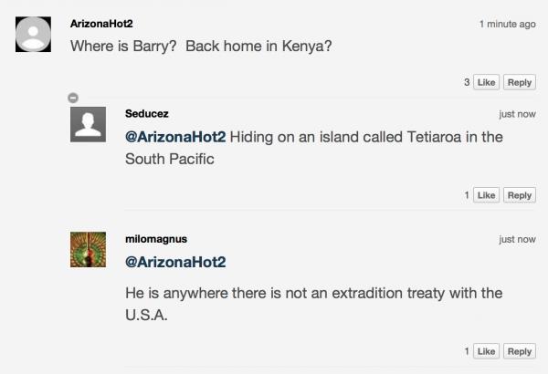 Пример комментария на Fox news