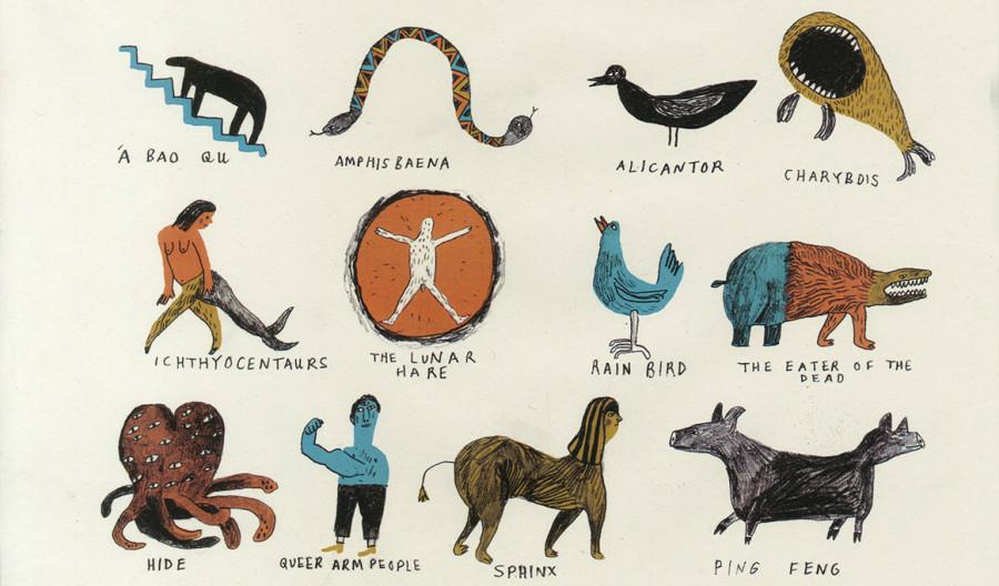 Книга вымышленных существ скачать хорхе луисом борхесом
