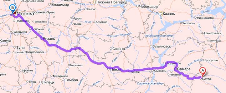Москва пермь как лучше ехать на машине