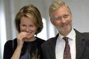 Матильда и  Филип -король и королева Бельгии