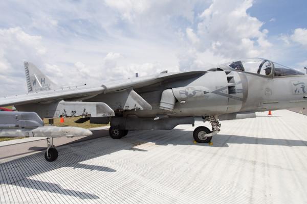 Sun n Fun 2012 ч.11: AV-8B Harrier II на земле и в воздухе