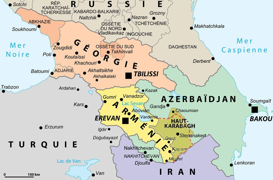 4) Реальная карта Закавказья: igor_alla — LiveJournal