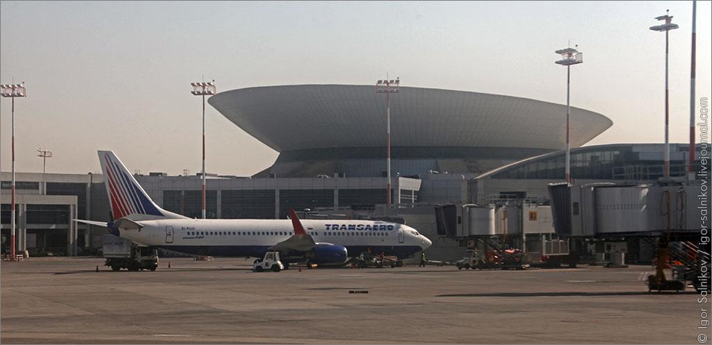 Израиль аэропорт Бен-Гурион самолет