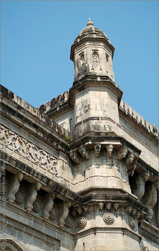 Ворота Индии Индия Мумбай Бомбей