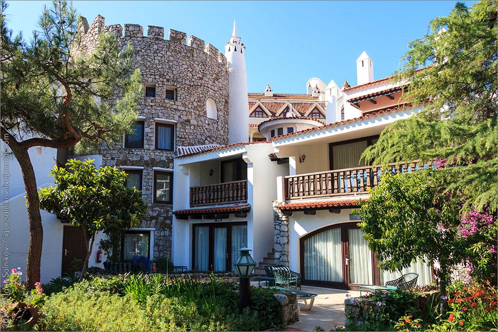 Турция отель отдых море Marti Resort Marmaris