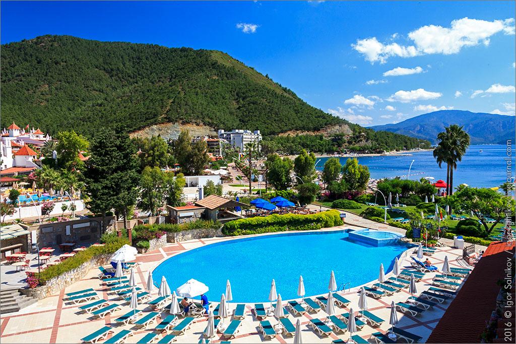 Турция отель отдых море Marti La Perla