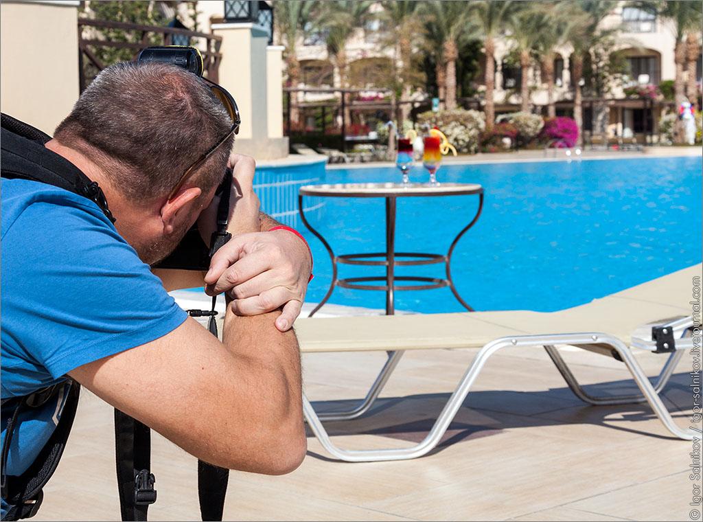 Египет Хургада Jaz Aquamarine Resort коктейль