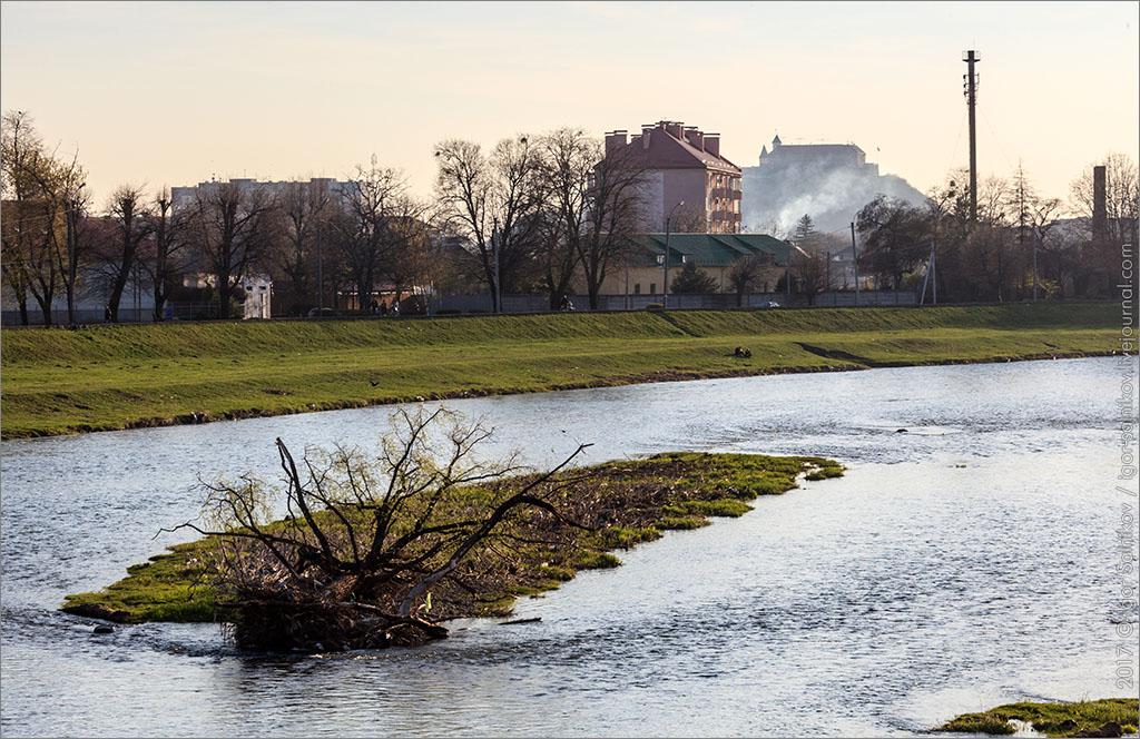 Мукачево Латорица река