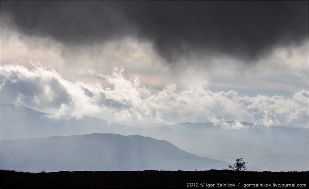 Крым облака