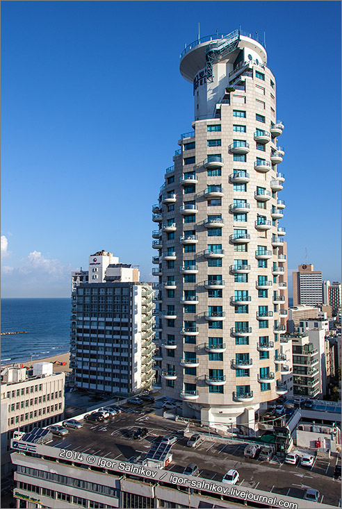 Израиль Тель-Авив Яффо Isrotel Tower