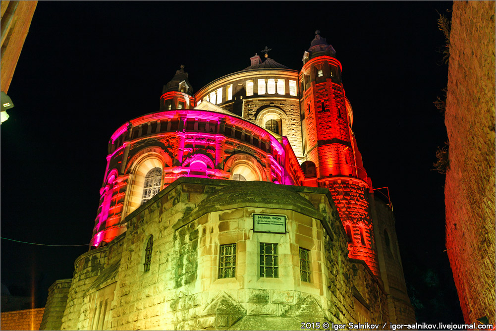 Израиль Иерусалим фестиваль света Israel Jerusalem light festival