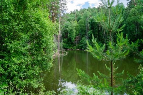 Нежданное озеро