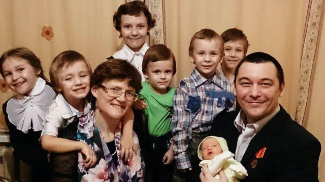 Семья Давыдовой Светланы