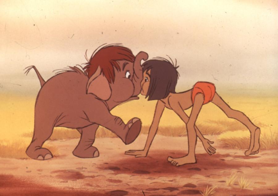 Маугли и слоненок США