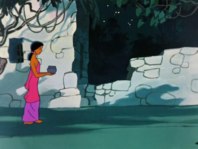 Девушка Маугли