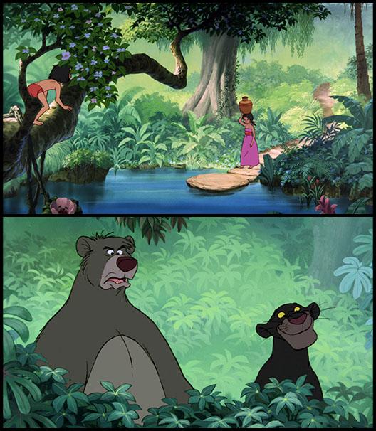 Маугли и девочка