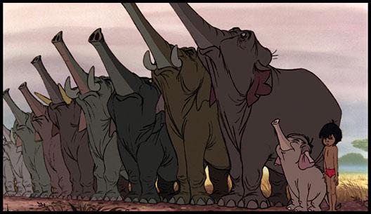 Маугли. Слоны