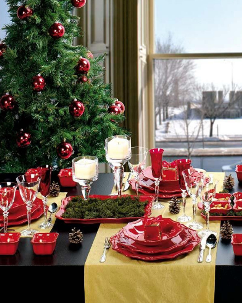 Ideas for dinner table decorations