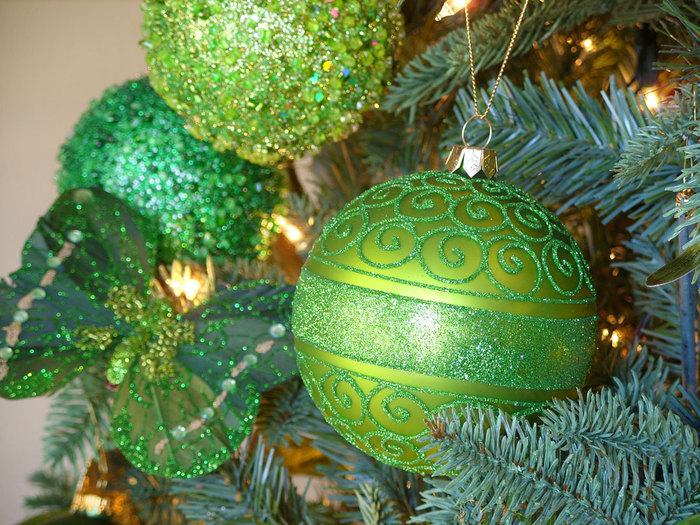 Рождественские картинки зеленые