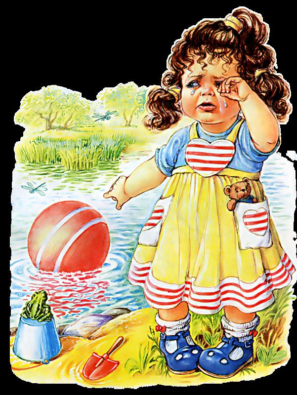 «Наша Таня громко плачет - уронила в речку мячик...»