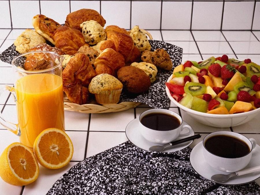 открытки утреннего завтрака хорошо подходят