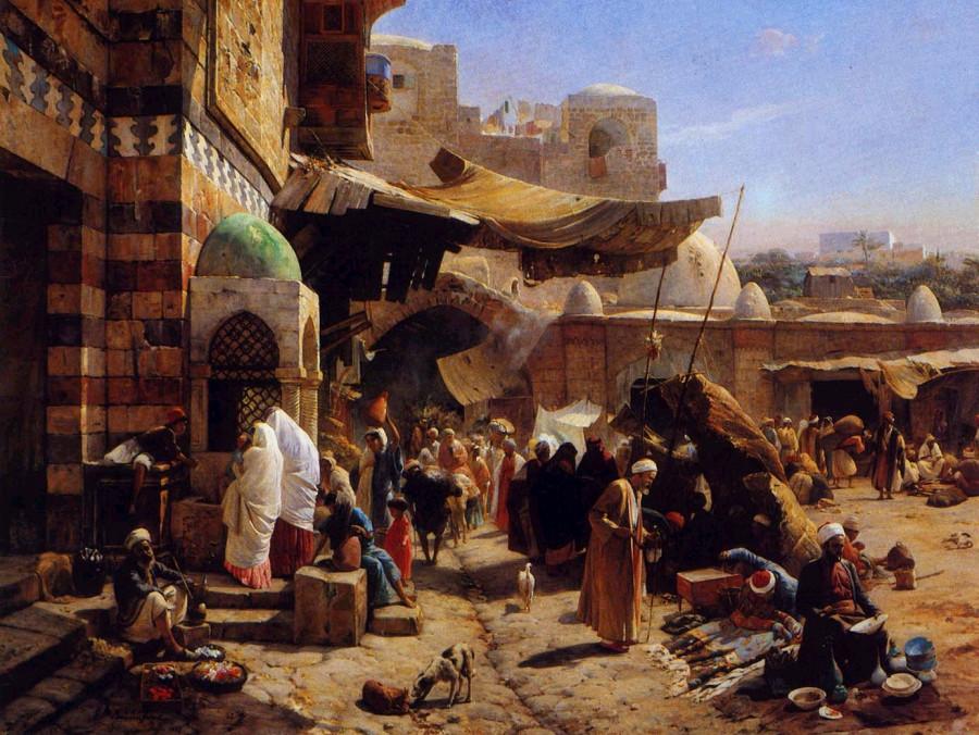 Reproduction-oil-paintings-Arab187