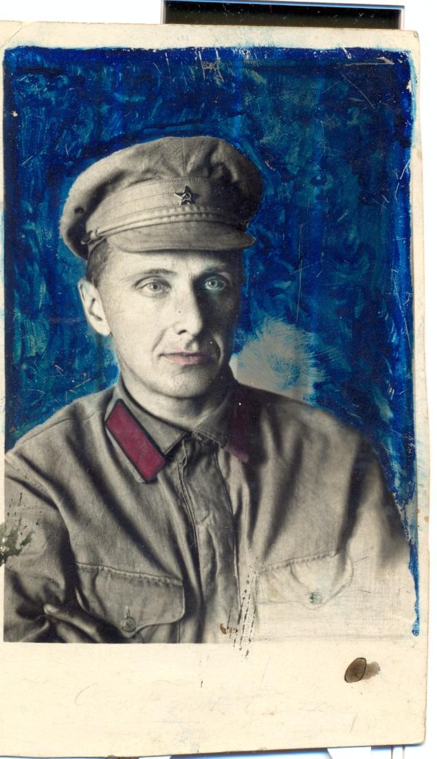 И.И. Вениаминов, 1918 г.