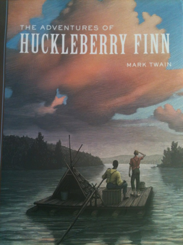 """mark twains the adventures of huckleberry finn and its place in society today Comes from one book by mark twain called 'huckleberry finn' but fled before an actual fight took place  """"adventures of huckleberry finn"""" is the."""